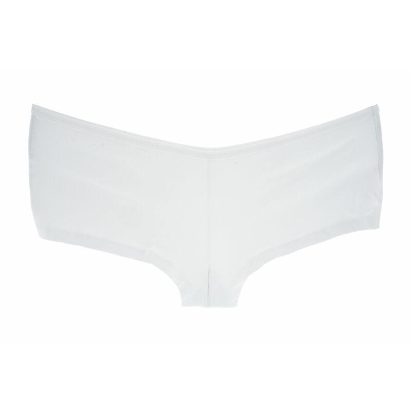 L méret 4 darabos Csomag FehérSimaPamutFranciaAlsó