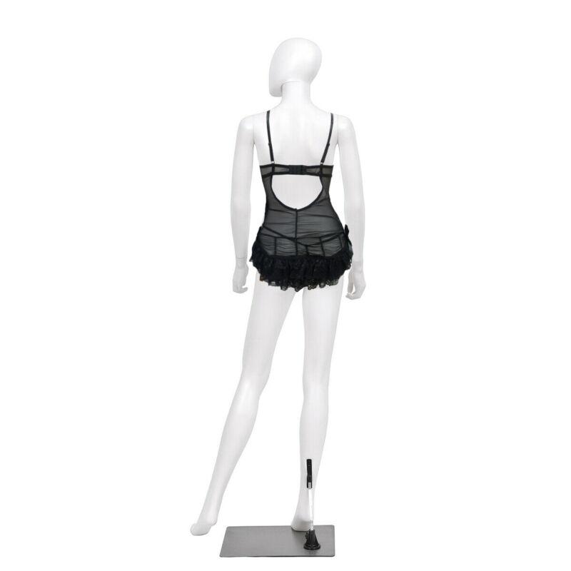 Bacic Fekete Sexy erotikus fehérnemű body babydoll hálóing hálóruha